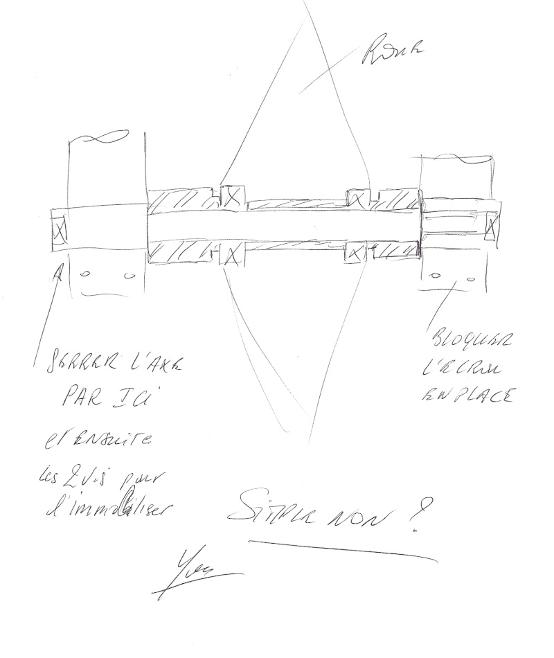 Conception axe de roue avant Numari13