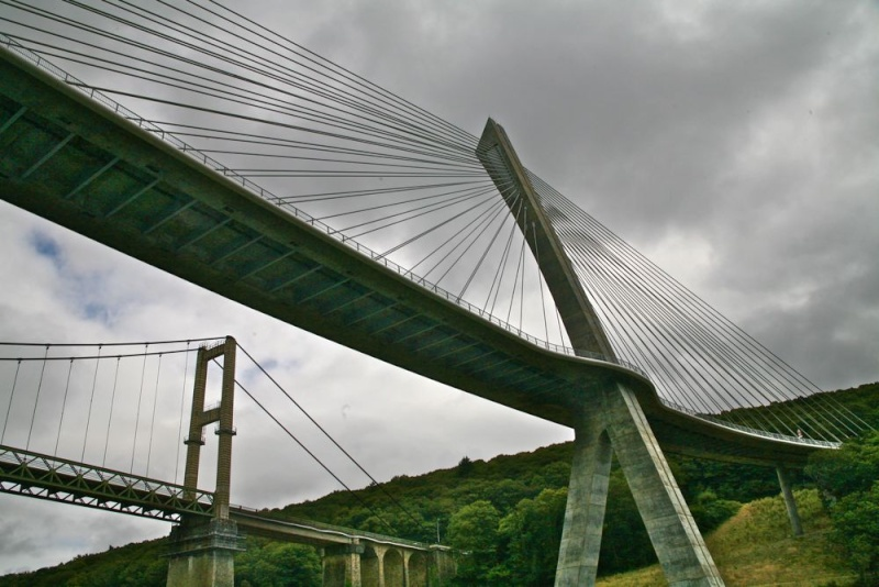 Déconstruction du vieux pont de Térénez Img_0012