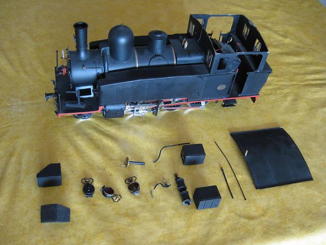 les 5 màquines St Léonard del tren d'Olot (FFCC de la Terrassa) A28
