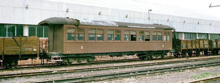 Cotxe tipus Martorell a escala IIm (FFCC de la Terrassa) X_310