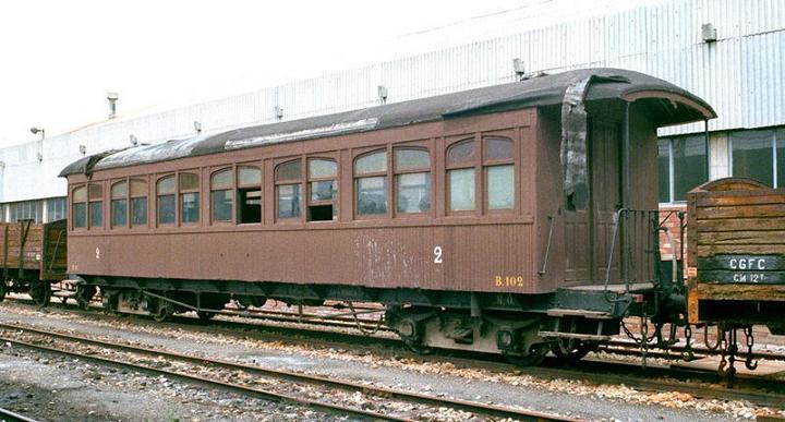 Cotxe tipus Martorell a escala IIm (FFCC de la Terrassa) X_510