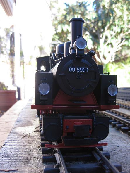 Tarda de trens a Barcelona (material nou Train Line 45 i LGB) Xxx_711