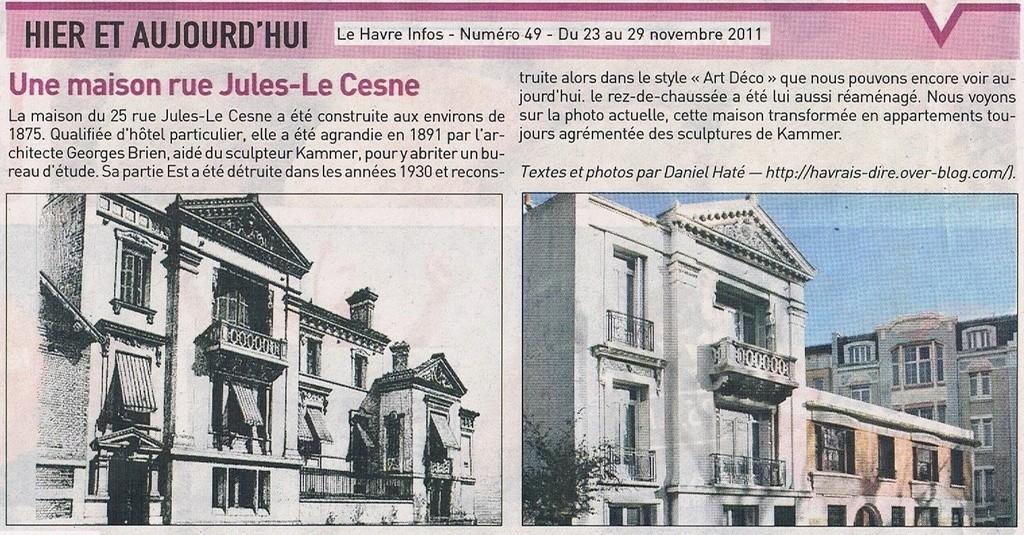 Havre - Le Havre - Rue Jules Lecesne 2011-112