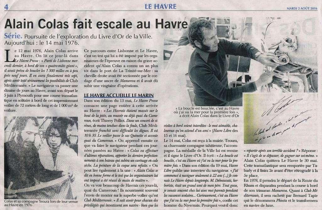 hebert - Découverte du Livre d'or de la Ville du Havre II 2016-014