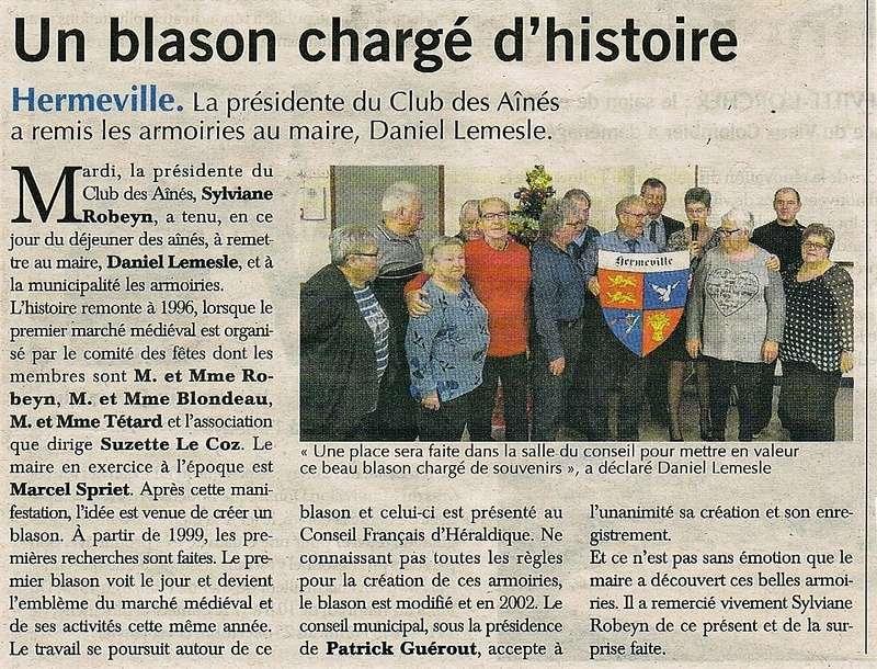 Hermeville et son blason 2016-110