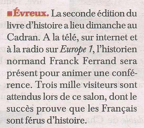 Salon du livre d'histoire à Evreux 2017-021