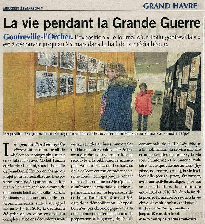 Journal - Le journal d'un Poilu de Gonfreville-l'Orcher 2017-022