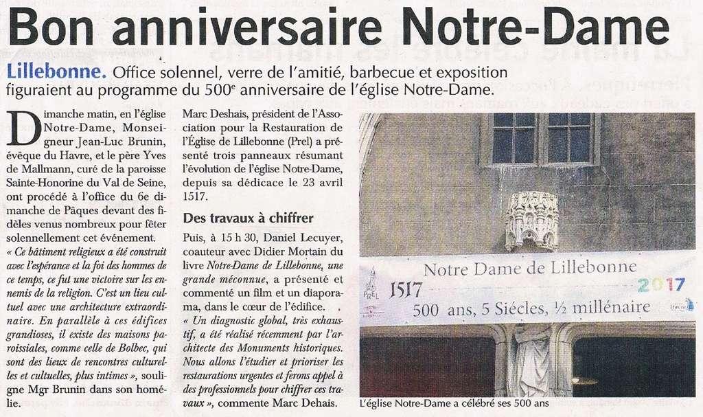 Les 500 ans de l'église de Notre-Dame de Lillebonne 2017-053