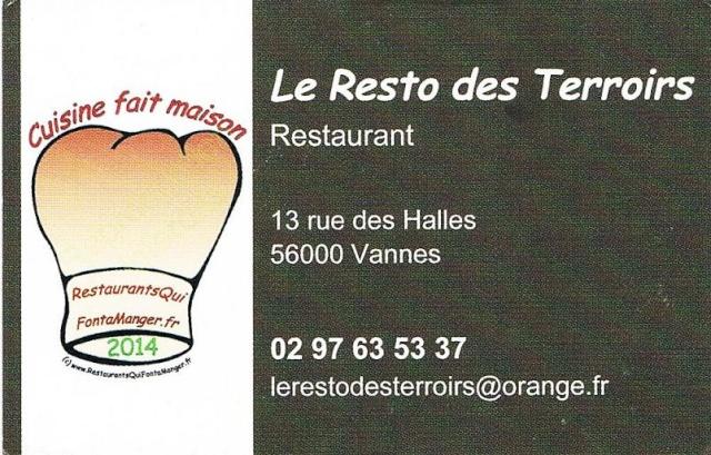 Vannes : Le resto des Terroirs Vannes10