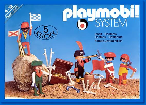 PLAYMOBIL : le thème des PIRATES ( Vintage ) 354215