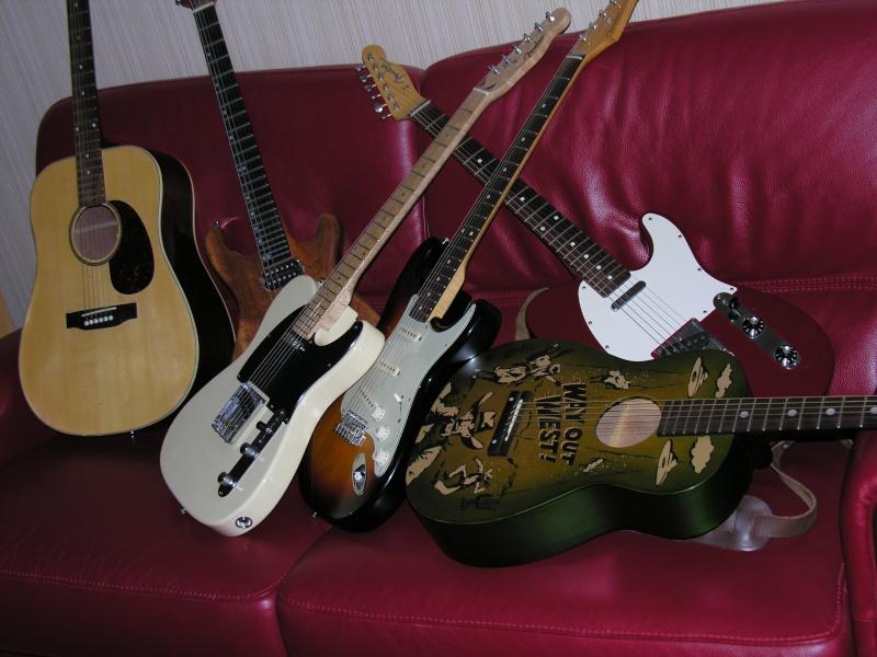 Plusieurs guitares Dscn0610