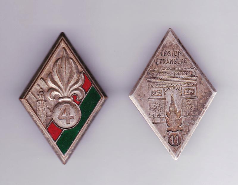 Les insignes d'Infanterie d'Afrique 1939-1940 Insign10