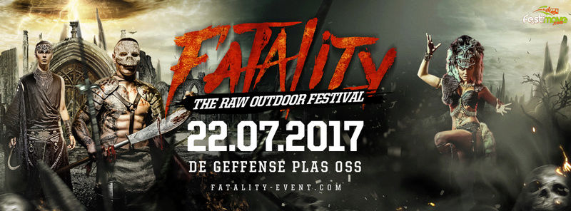Fatality - The RAW Outdoor Festival - 22 Juillet 2016 - Geffense Plas - Oss - NL 15874811