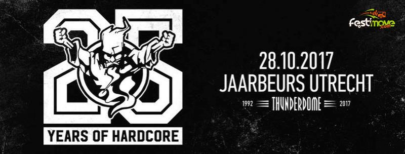 THUNDERDOME - An ode to Hardcore - 28 Octobre 2017 - Jaarbeurs - Utrecht - NL 16807410