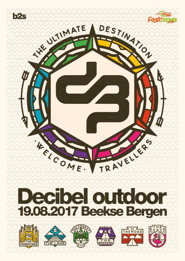 DECIBEL OUTDOOR - 18 au 21 Aout 2017 - Beekse Bergen, Hilvarenbeek - NL 2017-010