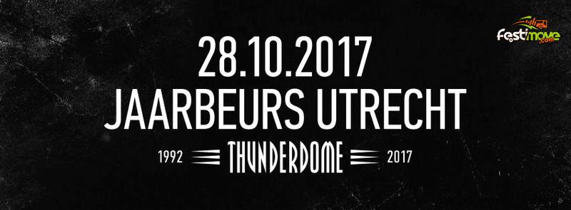 THUNDERDOME - An ode to Hardcore - 28 Octobre 2017 - Jaarbeurs - Utrecht - NL Thunde10