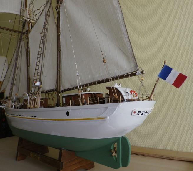 """Les Goëlettes  """" L'Etoile"""" et """" La BELLE POULE """" .... diverses maquettes - Imgp3511"""