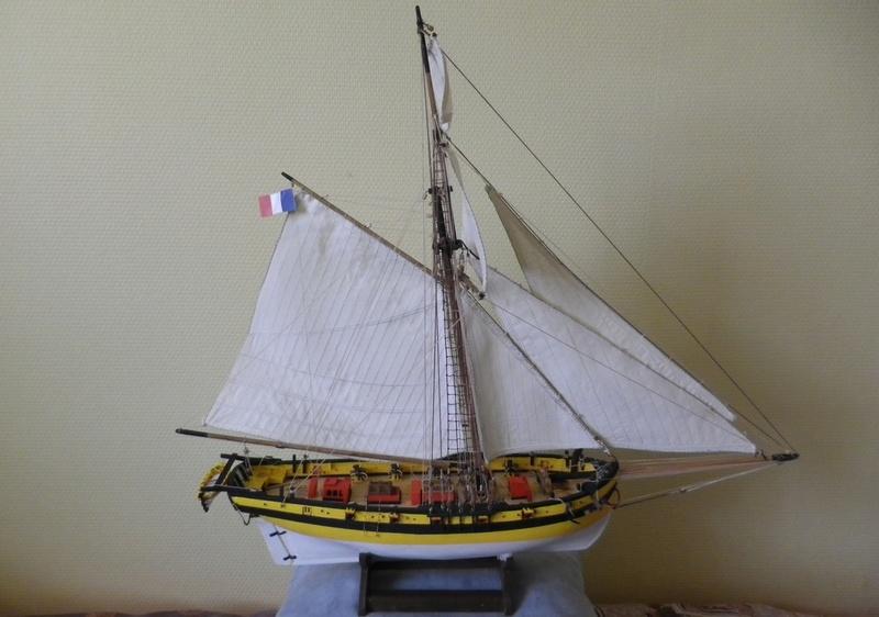 """"""" Le RENARD """" de 1812 au  1/50ème Kit Soclaine - Page 14 Imgp5867"""