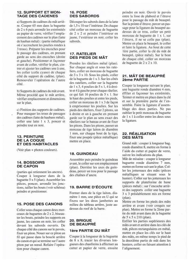 """"""" La RECOUVRANCE """" au 1/50ème - Kit Soclaine et plans AAMM Notice10"""