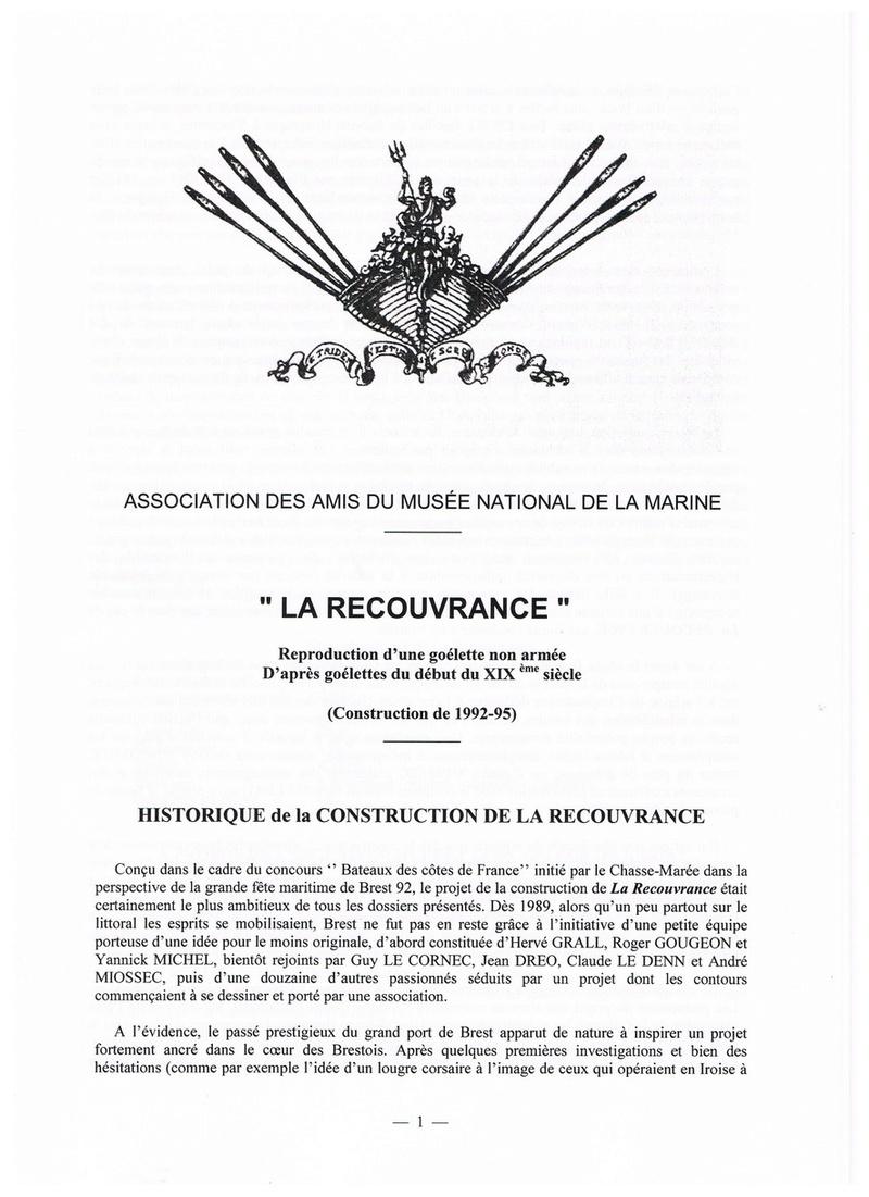 """"""" La RECOUVRANCE """" au 1/50ème - Kit Soclaine et plans AAMM - Page 2 Pg_110"""