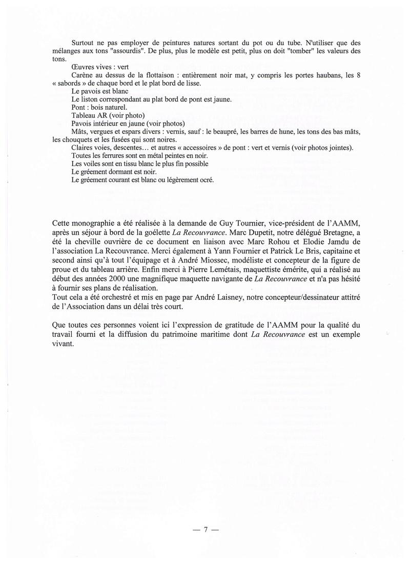 """"""" La RECOUVRANCE """" au 1/50ème - Kit Soclaine et plans AAMM - Page 2 Pg_710"""