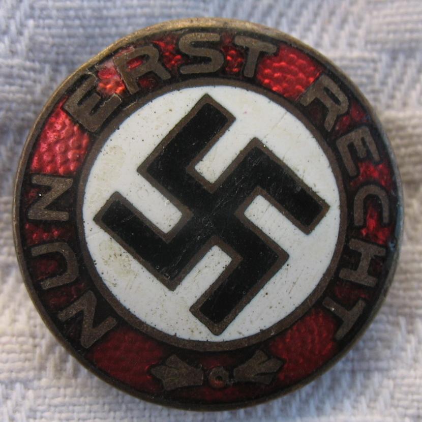 Badge Nun Erst Recht  Img_7011