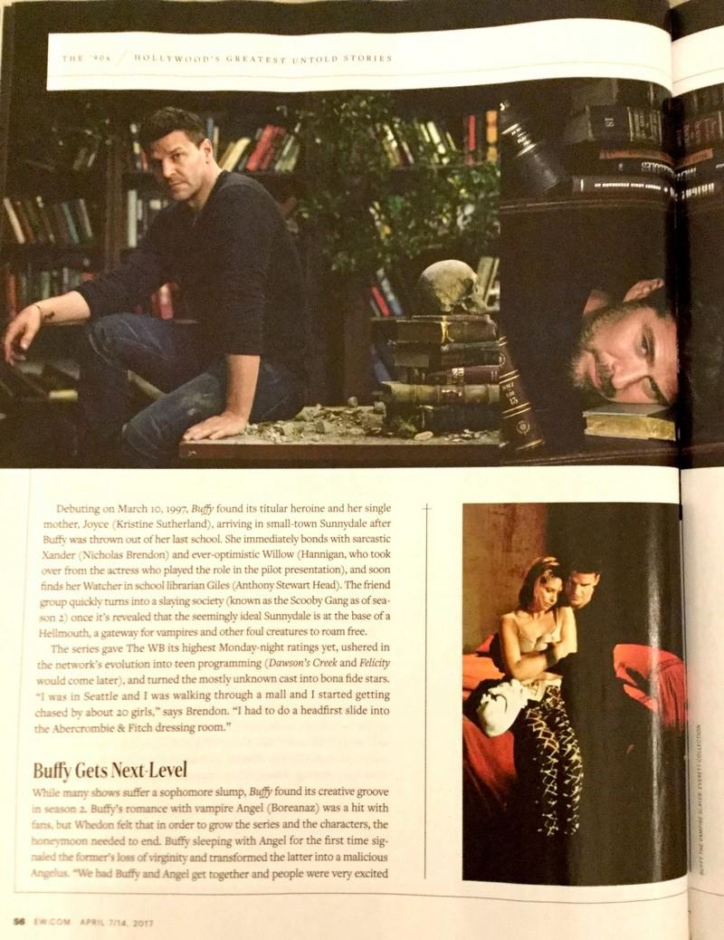 Numéro Entertainment Weekly pour les 20 ans de BtVS Nouvea13