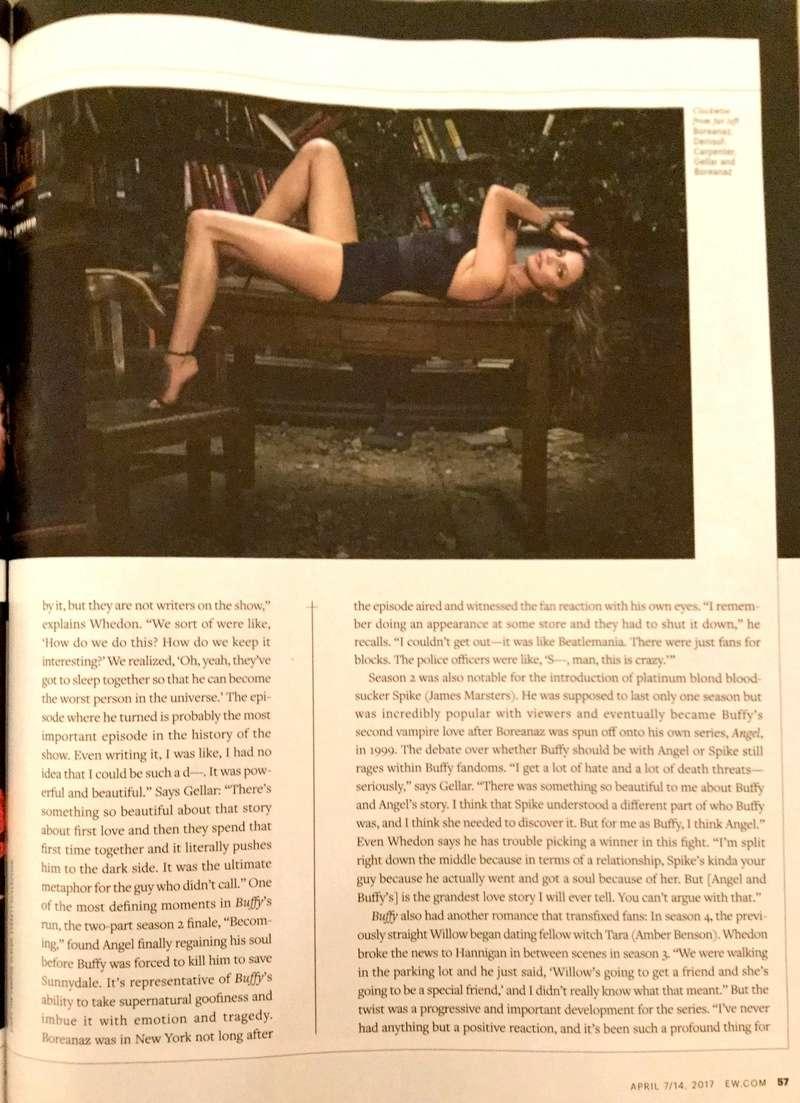 Numéro Entertainment Weekly pour les 20 ans de BtVS Nouvea16