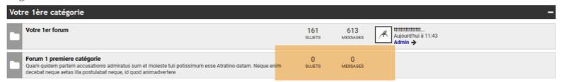 [EDGE] Corriger sur l'index le pluriel du singulier sujets et messages 186