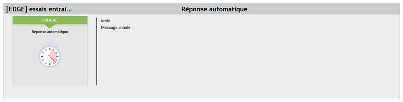 [EDGE] Afficher une réponse automatique style staff 222