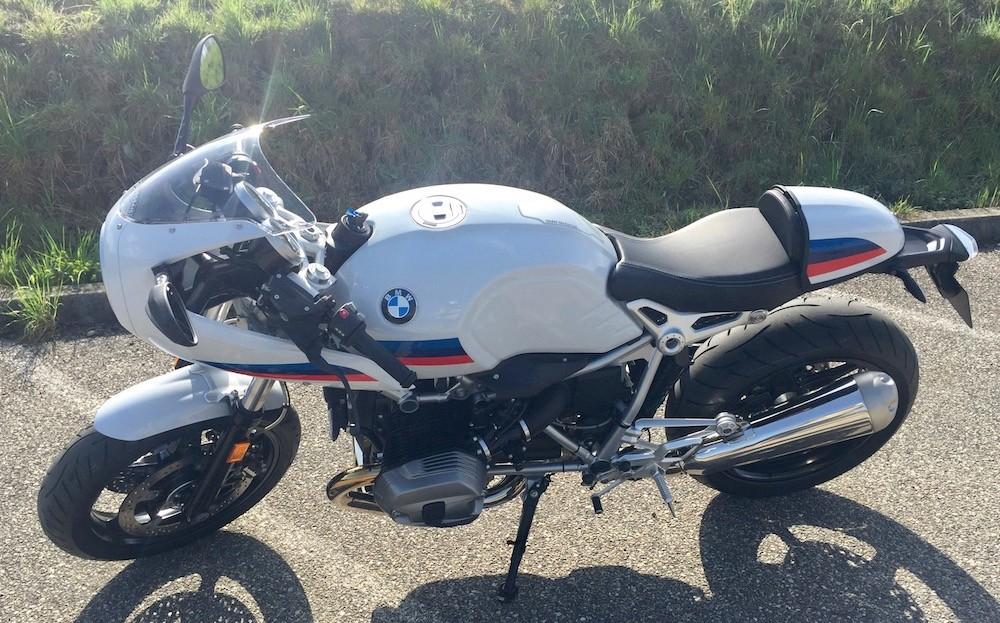 Jim essaie la BMW R NineT Racer Img_3731