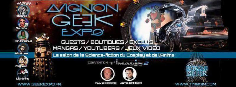 MAJ : Avignon Geek Expo 2  : 17-18 février 2018 Bandea11
