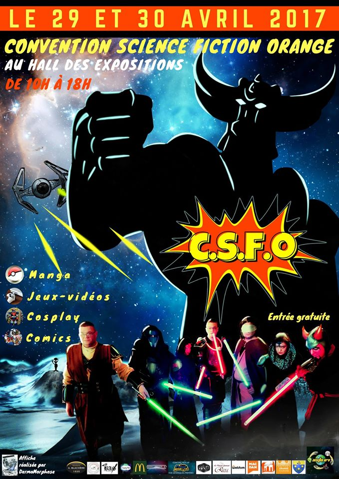 CONVENTION SCIENCE FICTION ORANGE (84-Vaucluse) 29&30 Avril Conv10