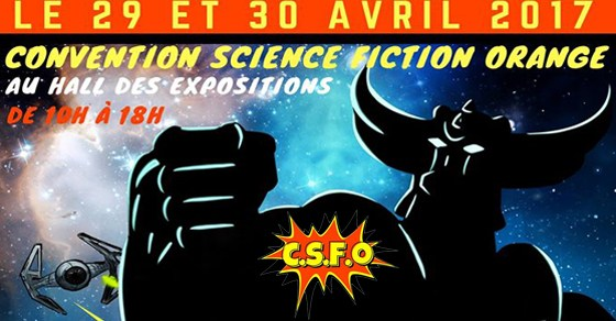 CONVENTION SCIENCE FICTION ORANGE (84-Vaucluse) 29&30 Avril Conven10
