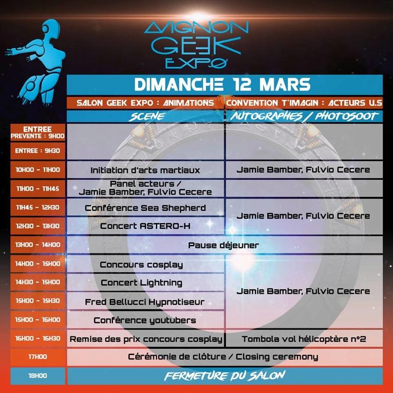MAJ : Avignon Geek Expo 2  : 17-18 février 2018 Progra11