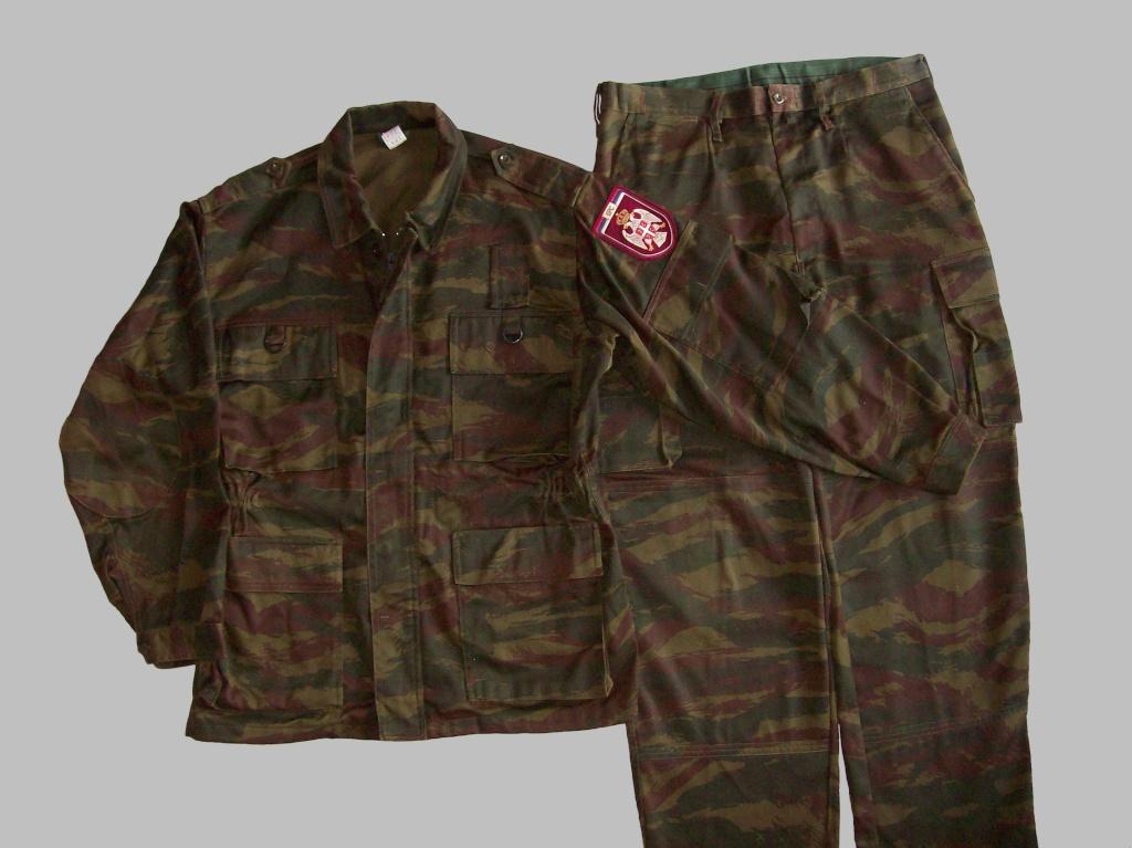 Serbian of Bosnian and Srpska repubic camouflage 100_2816