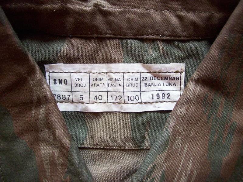 Serbian of Bosnian and Srpska repubic camouflage 100_3225