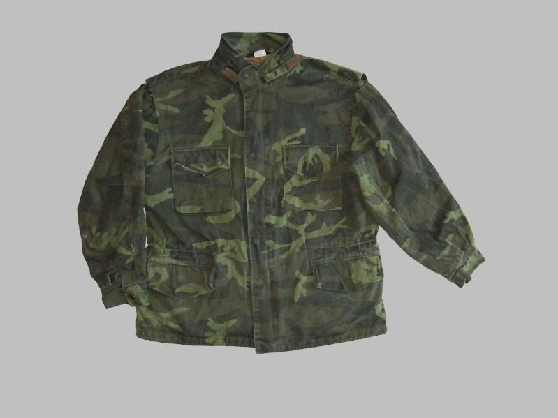 Bosnian woodland camouflage jacket & shirt 100_4317