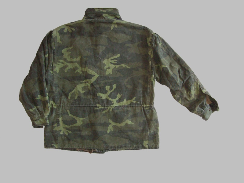 Bosnian woodland camouflage jacket & shirt 100_4318