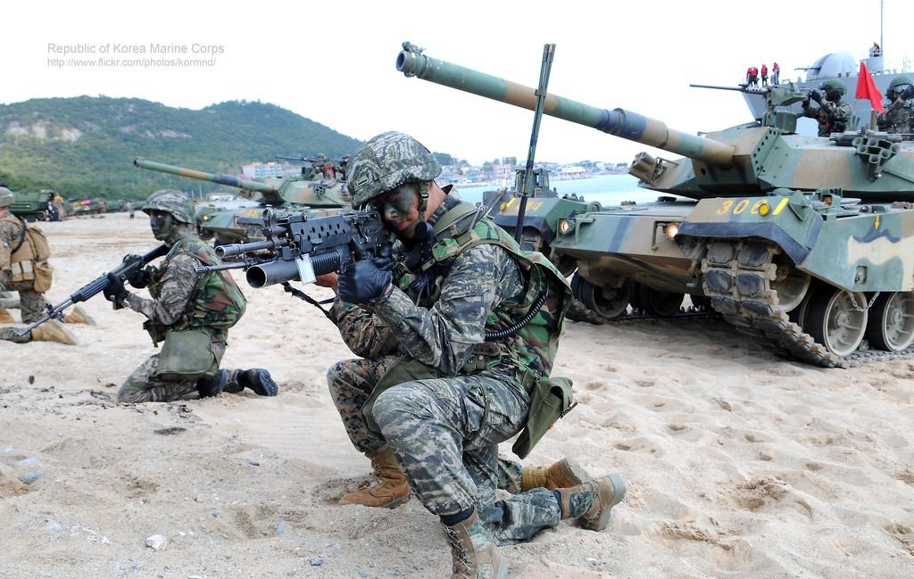 ROK Marines Pattern Corae-15