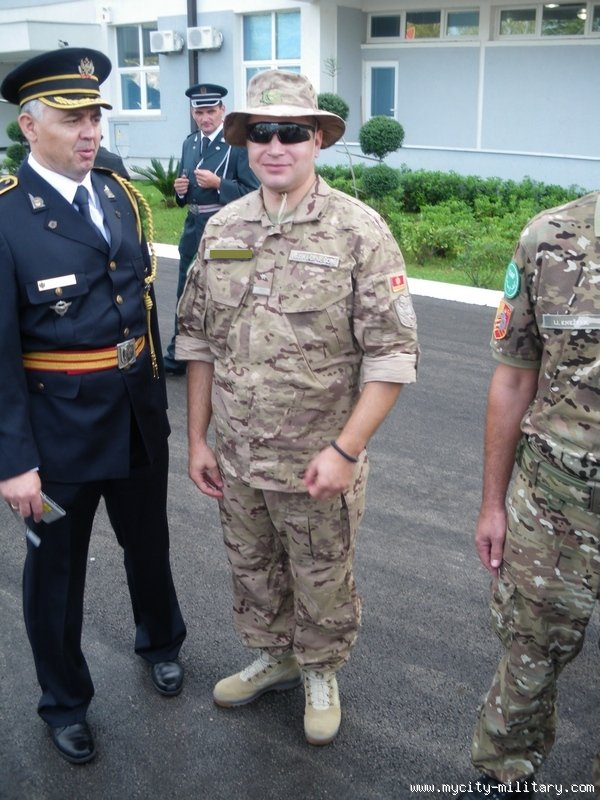New Montenegro Army uniform Monten11