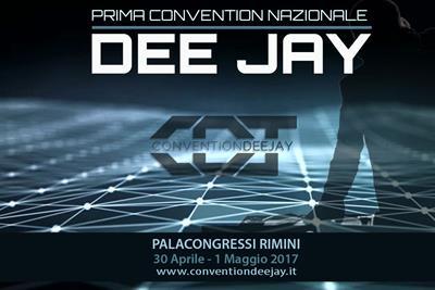 La prima CONVENTION nazionale deejay a Rimini 30 Aprile 1° Maggio 2017 Banner10
