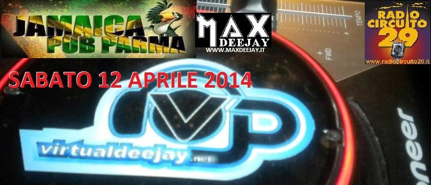 SERATONA @ JAMAICA PUB @ PARMA By MAX DEEJAY Jamaic11