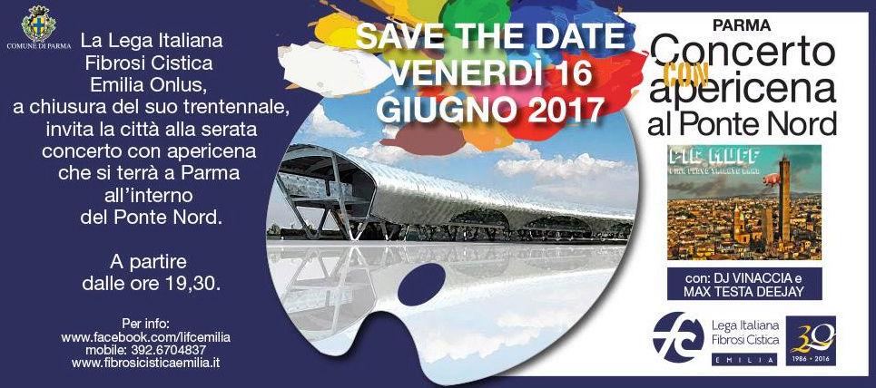 Lega Italiana Fibrosi Cistica Emilia: Concerto con apericena al Ponte Nord - Ven 16 Giugno  2017 Ponten11