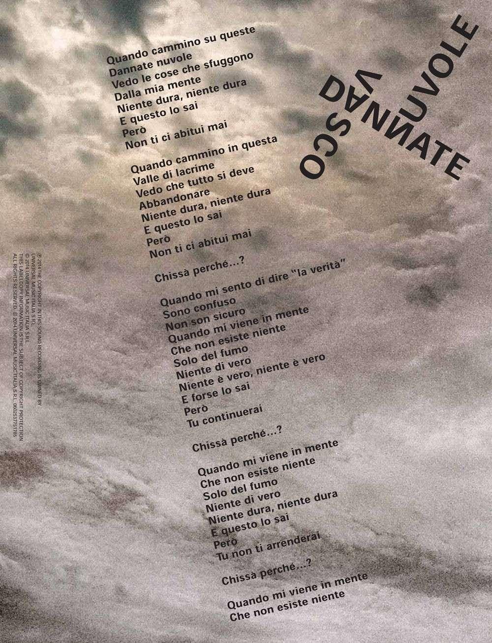 Vasco: Nuovo album il 4 Novembre, il 14 Marzo il nuovo singolo Testod11