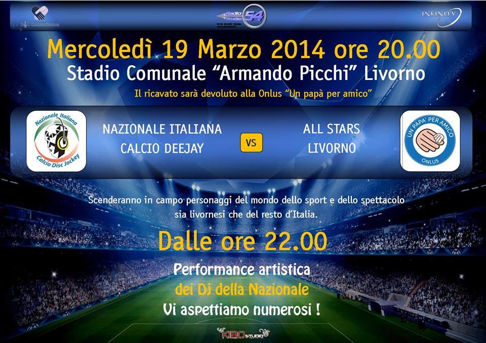 NAZIONALE ITALIANA CALCIO DJ - MODENA 7 APRILE 2014 Virtua16