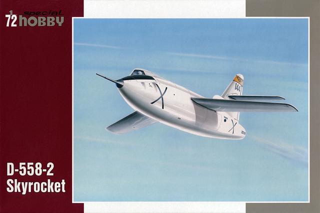 Douglas D-588-II ''Skyrocket'' casseur de Mach (1:72 Special Hobby) 12151210