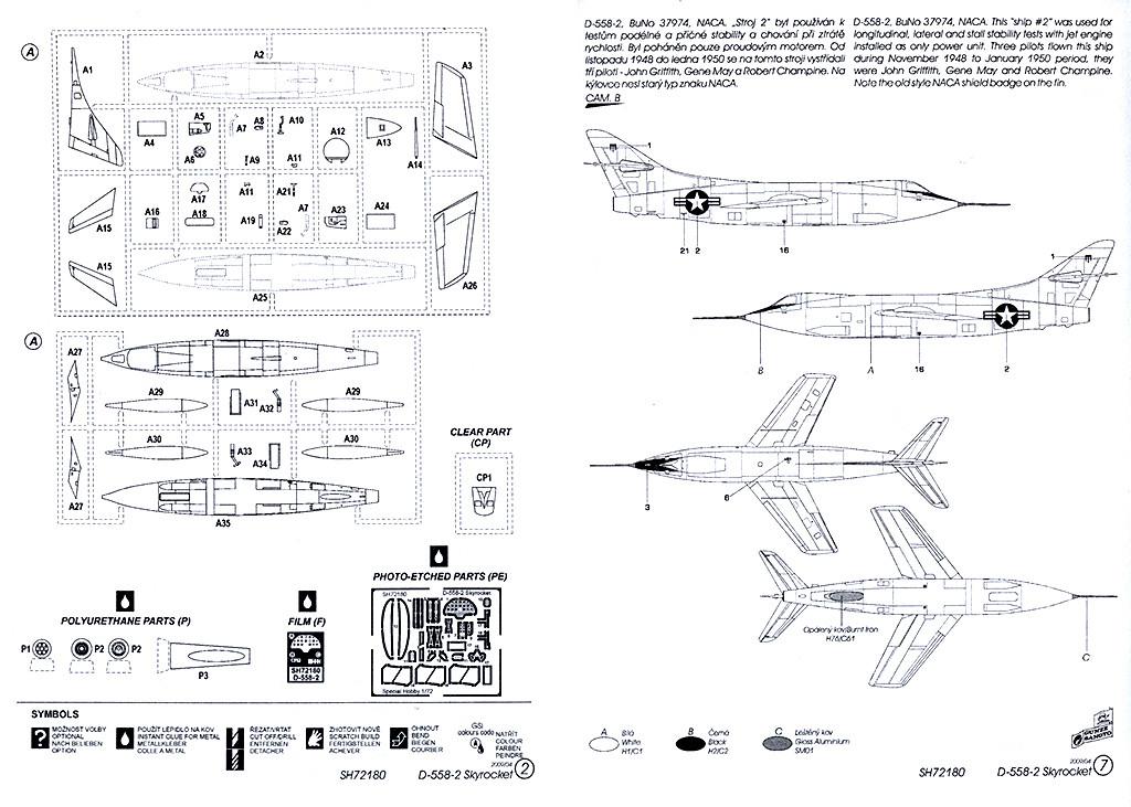 Douglas D-588-II ''Skyrocket'' casseur de Mach (1:72 Special Hobby) Dougla19