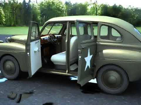 """Ford """"Fordor"""" US Army Staff car model 1942 (1.72 ACE) Hqdefa11"""