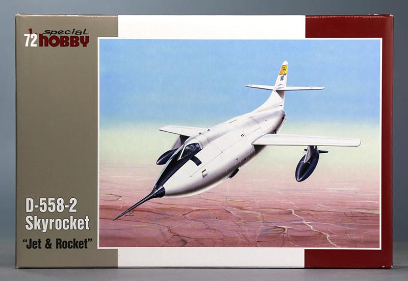 Douglas D-588-II ''Skyrocket'' casseur de Mach (1:72 Special Hobby) Img_9858